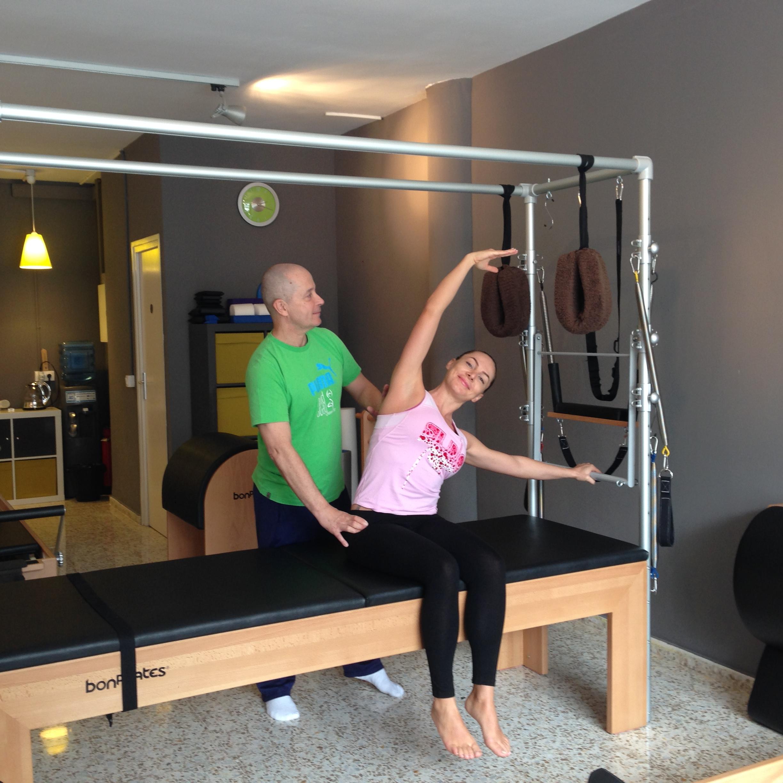 Cori Grămescu s-a antrenat la Barcelona cu Michael King, unul dintre cei mai mari formatori de Pilates din Europa!
