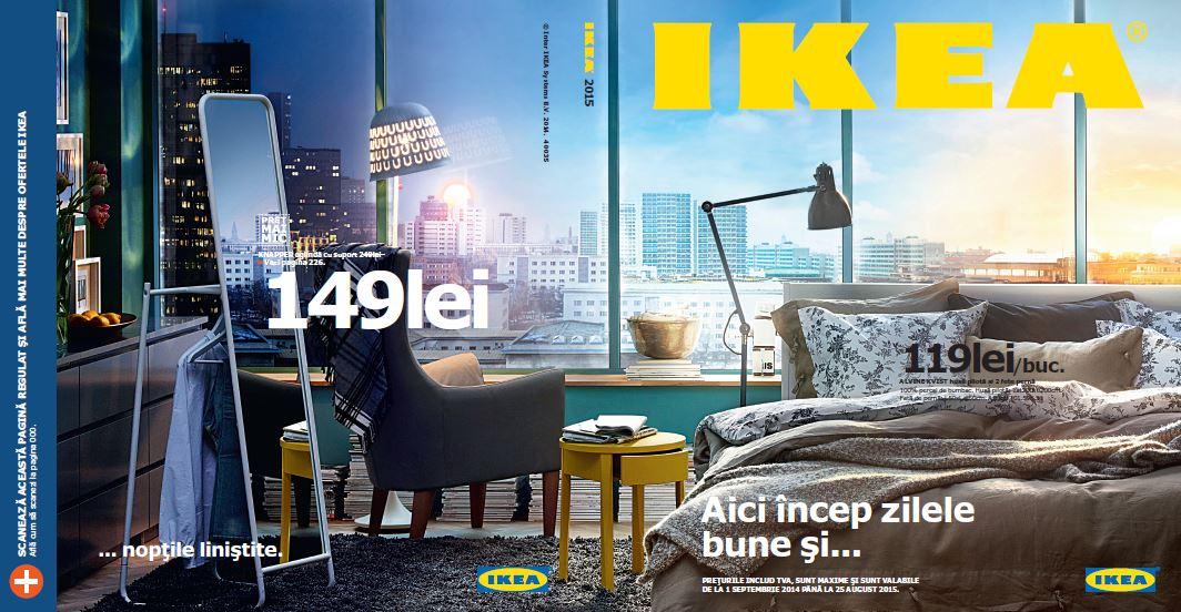 Zilele bune și nopțile liniștite sunt în centrul atenției în Catalogul IKEA 2015