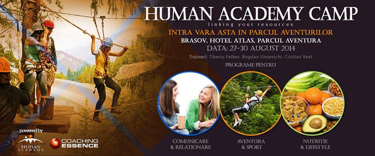 Human Academy Camp – un nou trend in petrecerea timpului liber