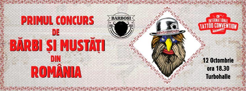 Primul concurs de bărbi și mustăți din Romania