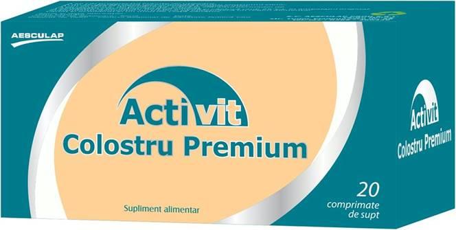 Activeaza natural sistemul imunitar cu Activit Colostru Premium