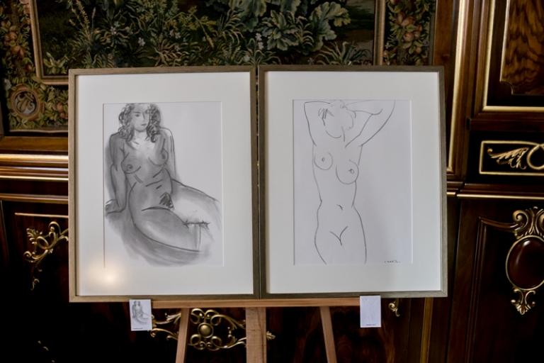 "Expozitia ""Capodopere ale artei grafice"" – Henri Matisse, pentru prima data in Romania"