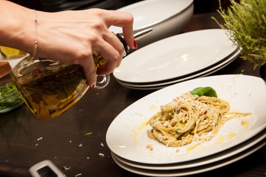 Rasfat de vara delicios si rapid: paste cu pesto