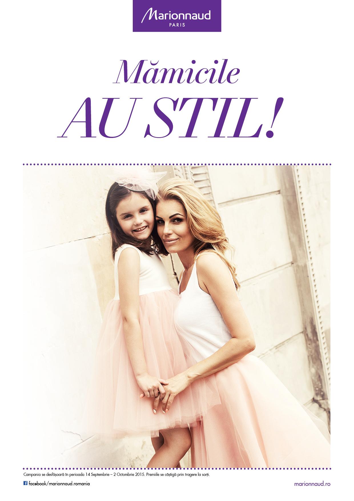 Mamicile au stil cu Marionnaud Paris