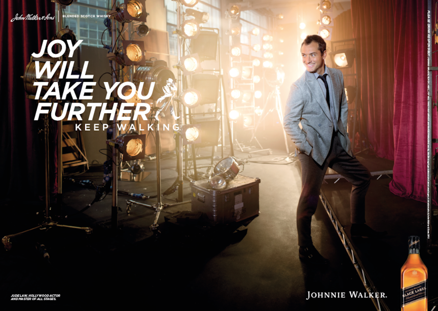 Johnnie Walker: Joy will take you further