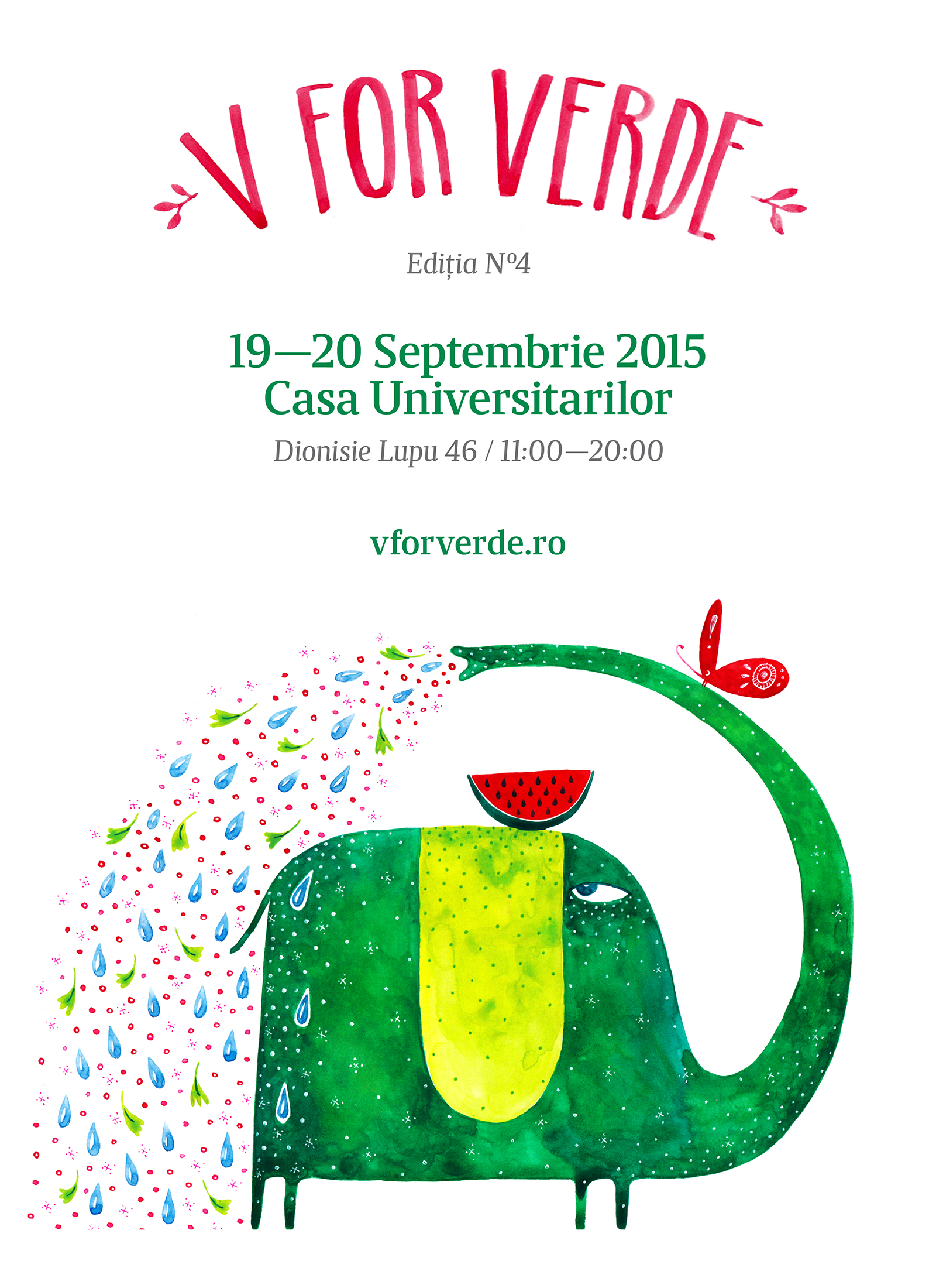 Targul V for Verde / 19—20 Septembrie / Casa Universitarilor