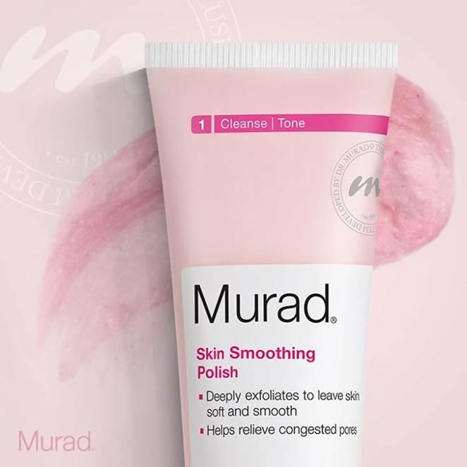 Ingrijire avansata pentru pori: noul Murad Skin Smoothing Polish!