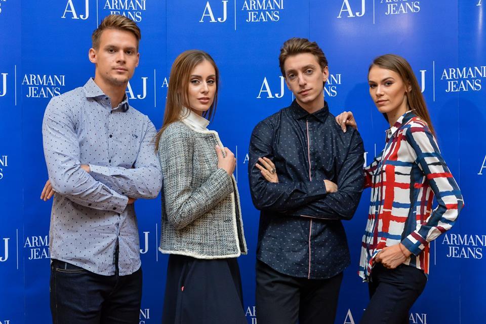 Deschidere Armani Jeans Romania
