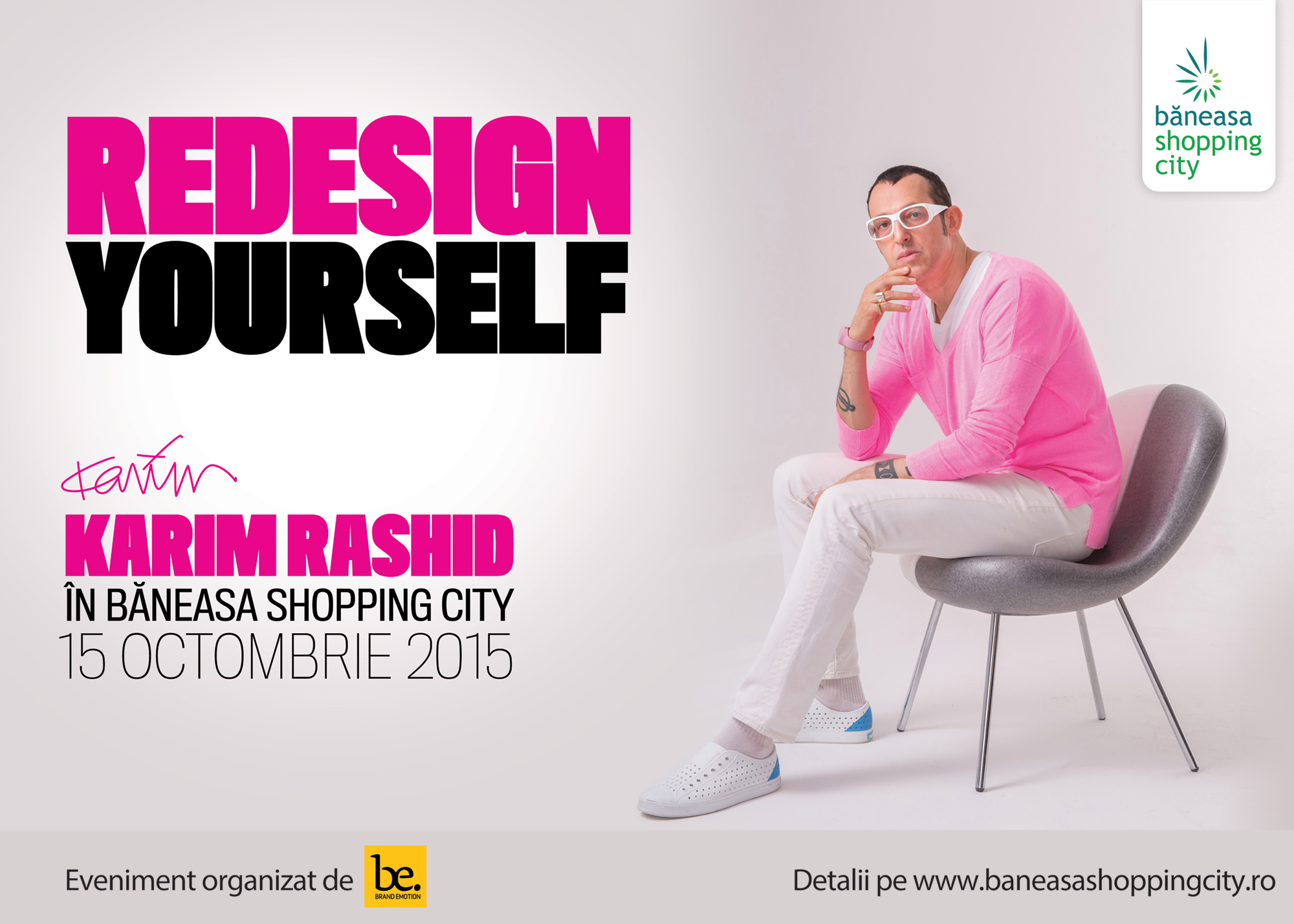 """How design will change the world"" by Karim Rashid"