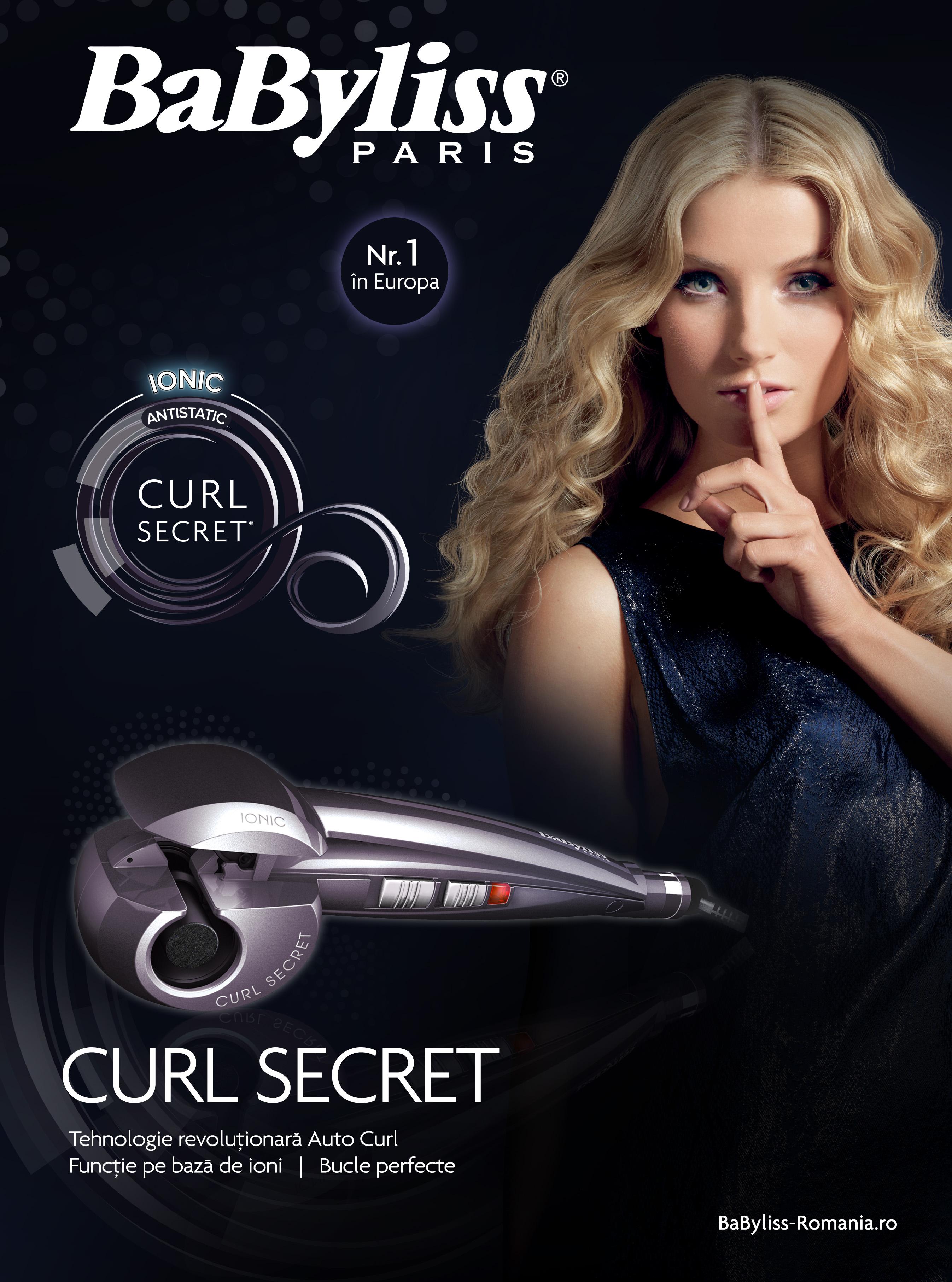 Concurs: Câștigă un ondulator Curl Secret de la BaByliss Paris