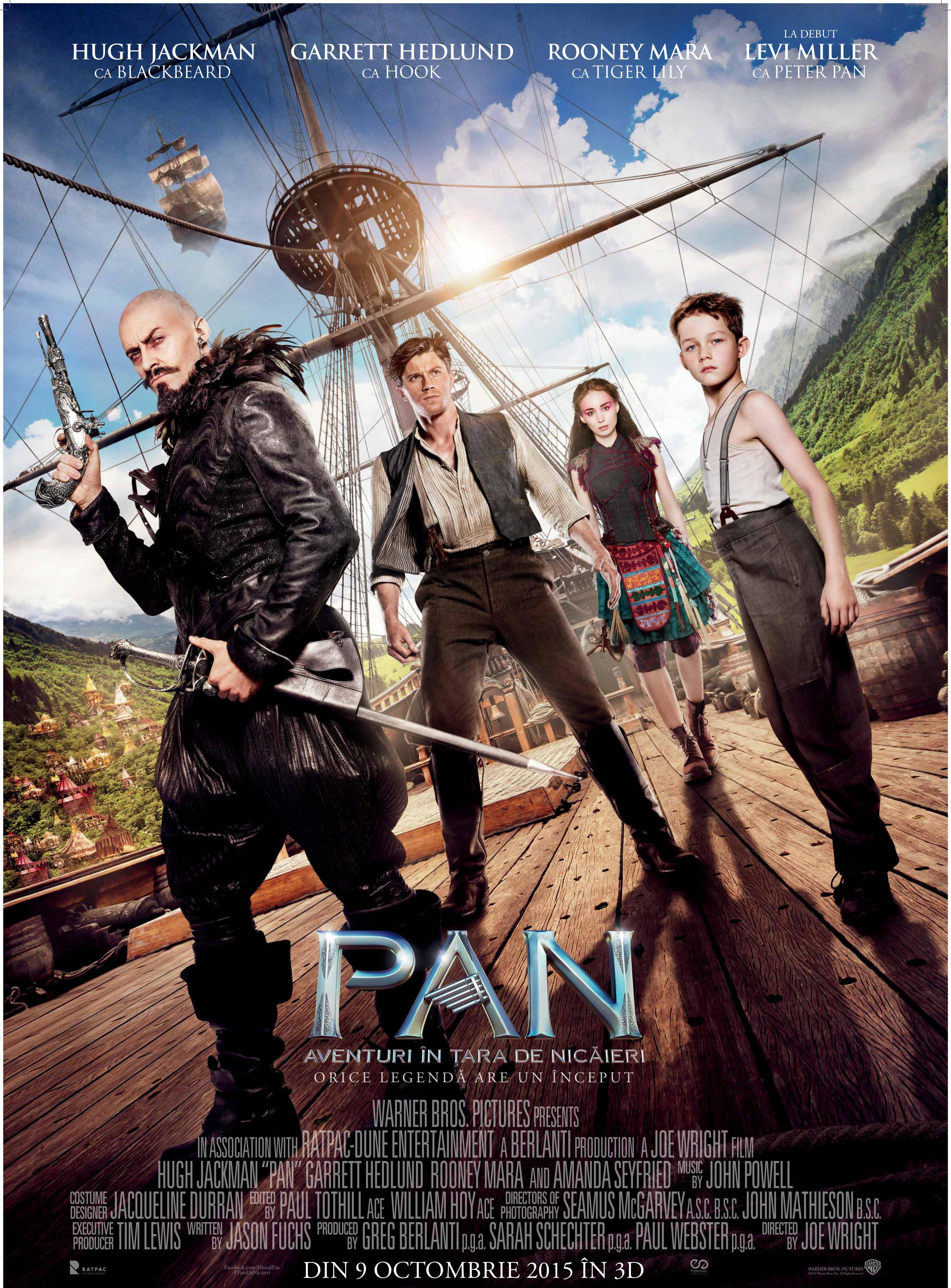 """3 motive pentru care trebuie să vezi filmul """"Pan"""" în 4DX"""