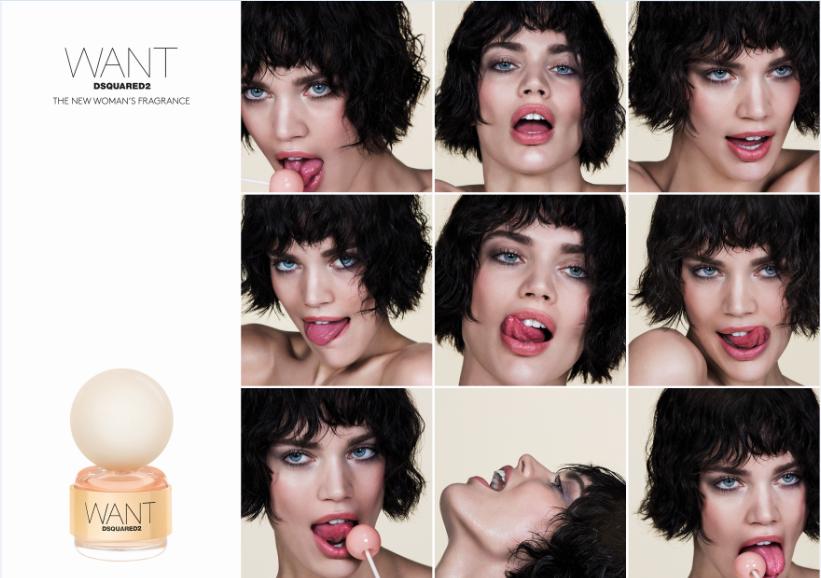 DSQUARED2 creează un parfum extrem de îndrăzneț: WANT