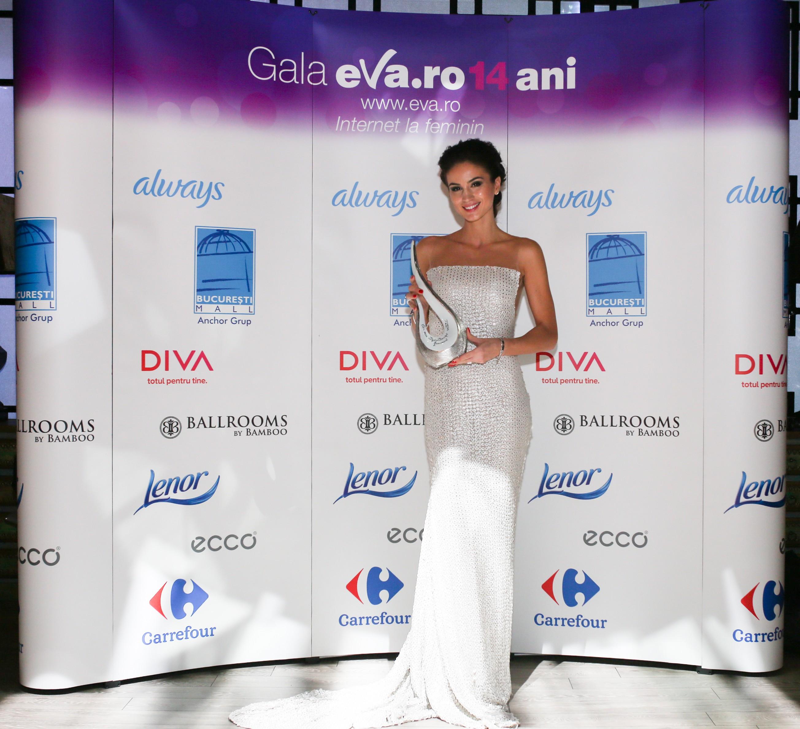 Gala Eva.ro: 14 ani de internet la feminin cu 33 de premii si zeci de vedete!