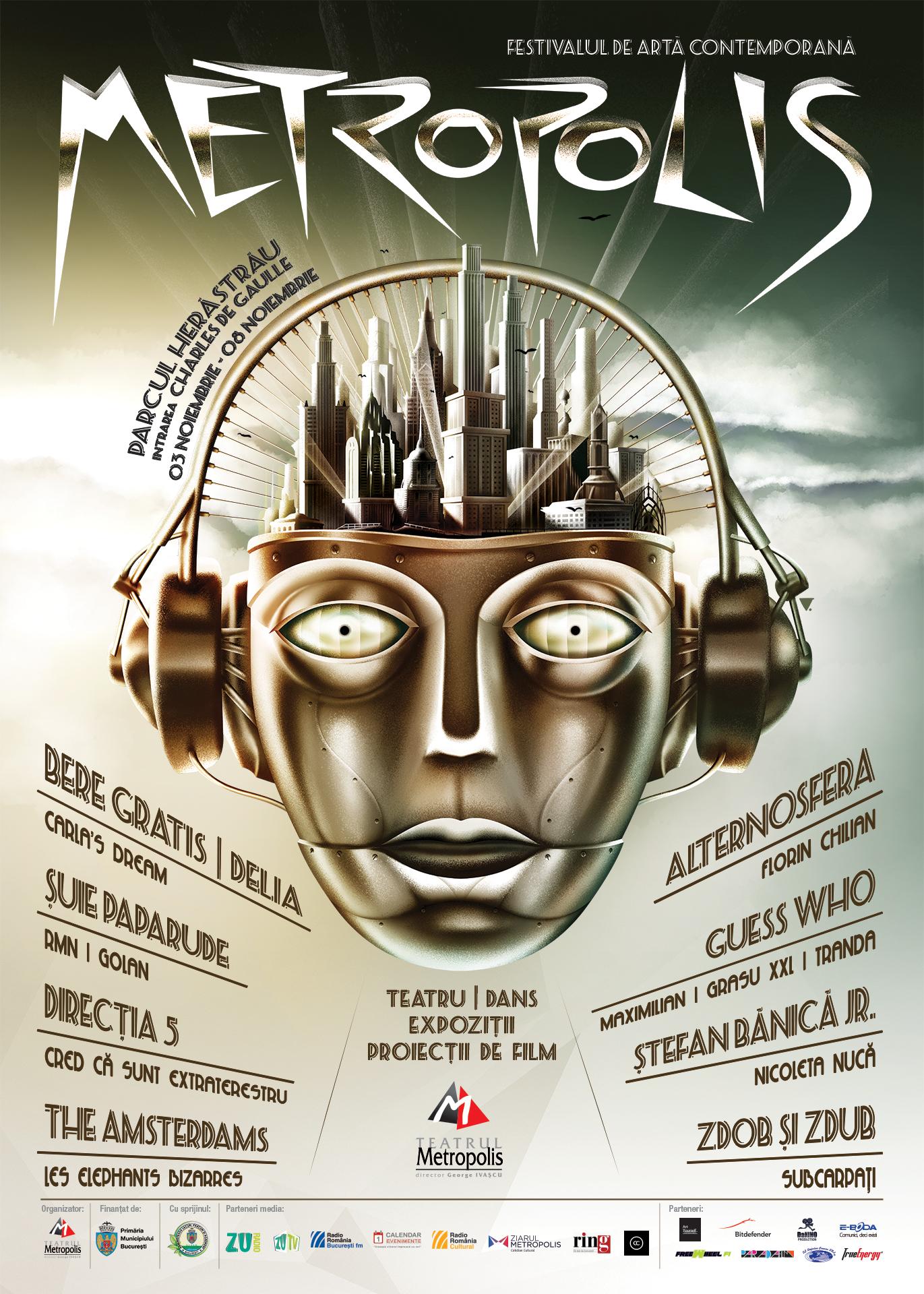 Festivalul de Arta Contemporana Metropolis 3-8 Noiembrie