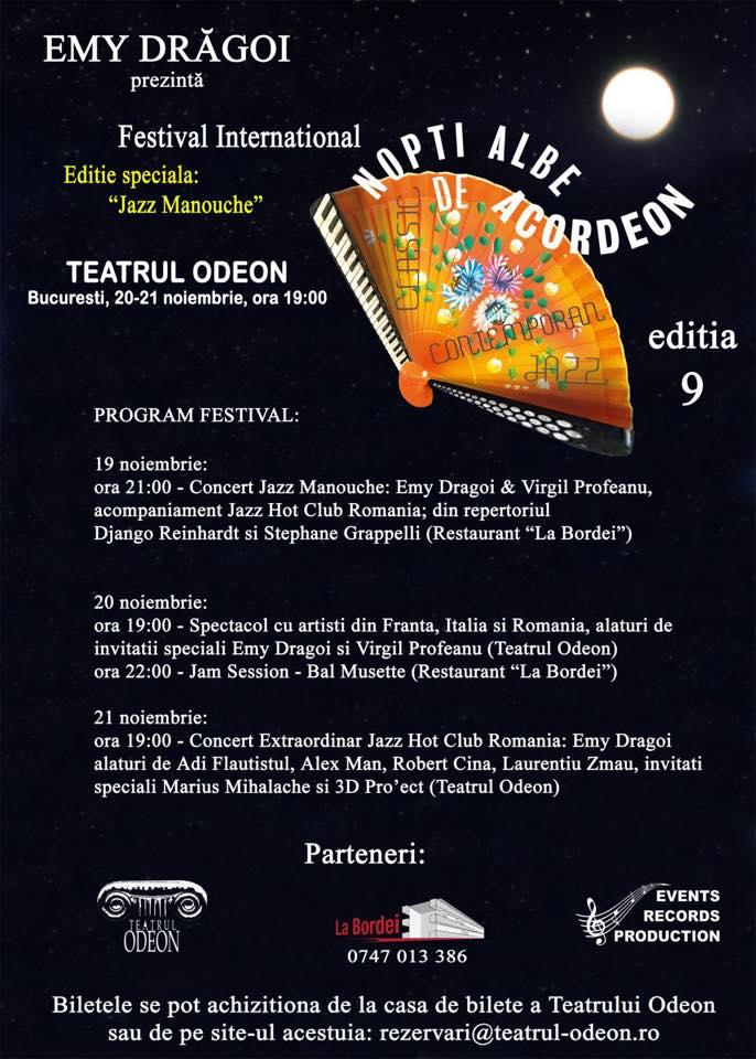 "Festivalul Internațional ""Nopți Albe de Acordeon"" –  LA BORDEI"