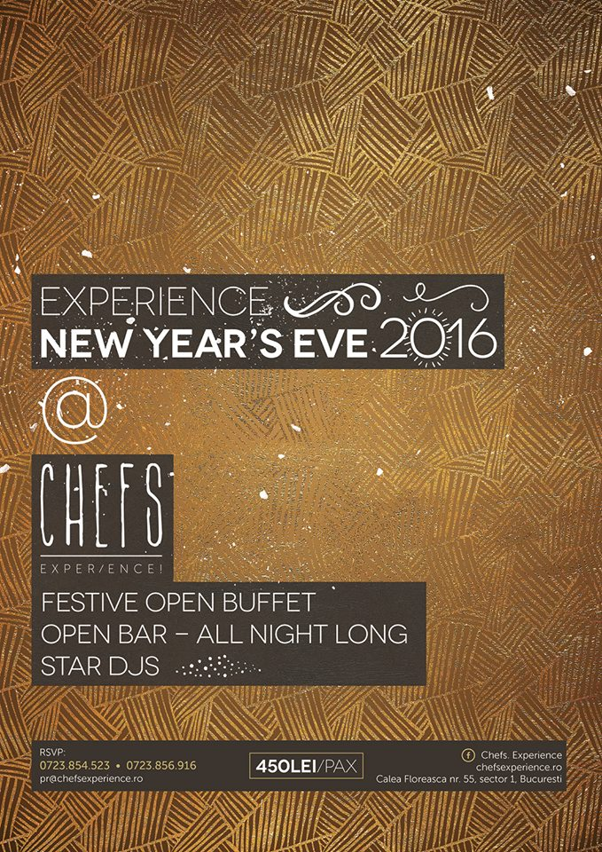 New Year`s Eve 2016 @ Chefs