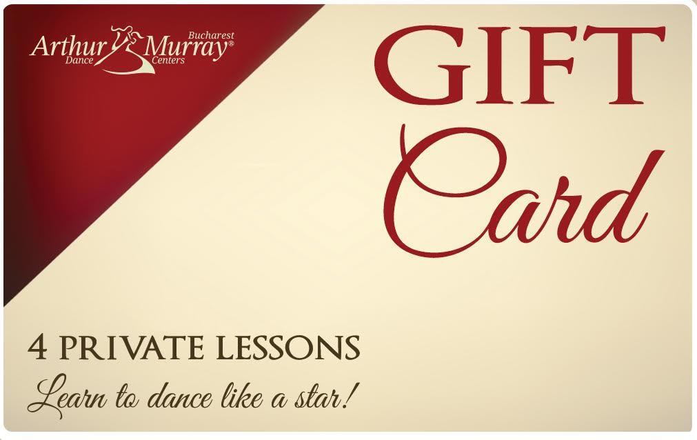 Daruieste magia dansului, cu noul Gift Card cu lectii de dans la Arthur Murray