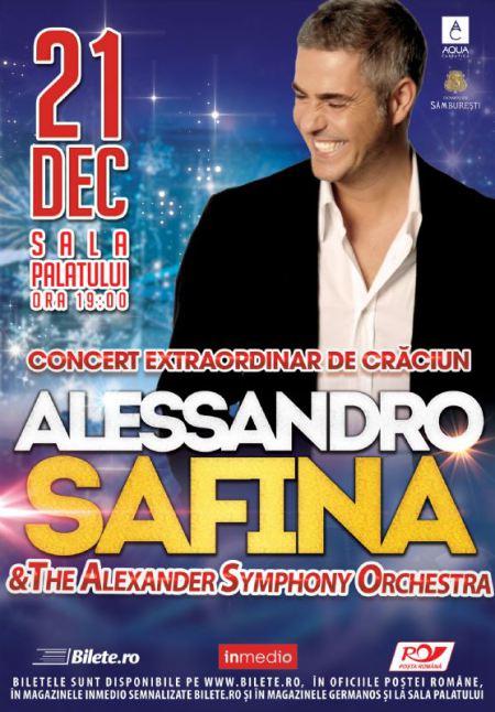 Concurs: Castiga o invitatie dubla la concertul lui Alessandro Safina de la Sala Palatului