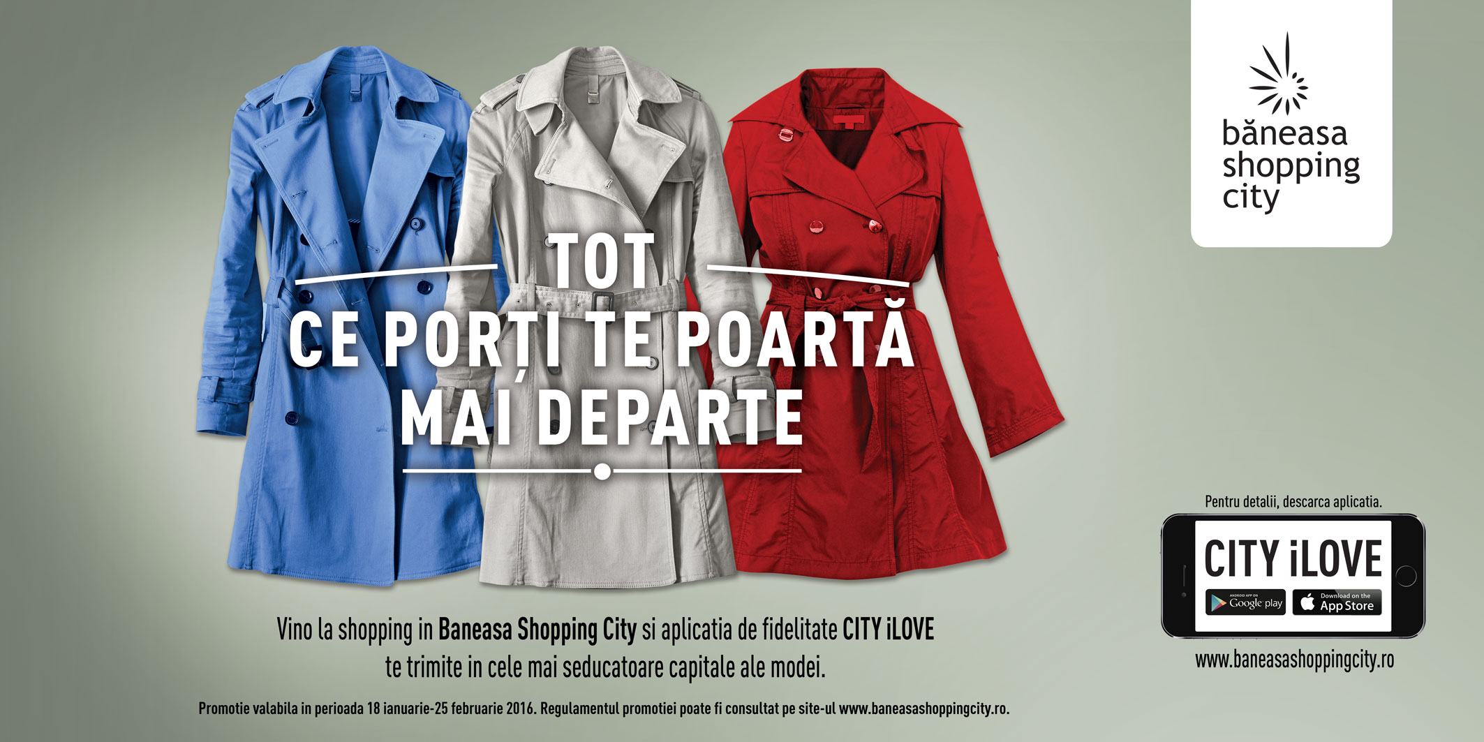 Băneasa Shopping City te trimite la Londra, Paris și Milano