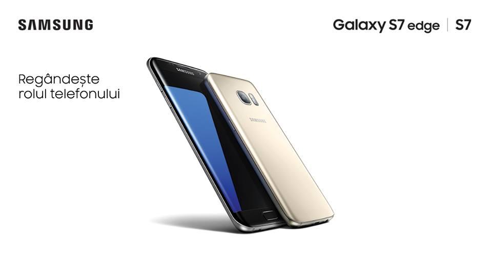 Samsung lansează noile smartphone-uri Galaxy S7 și S7 edge