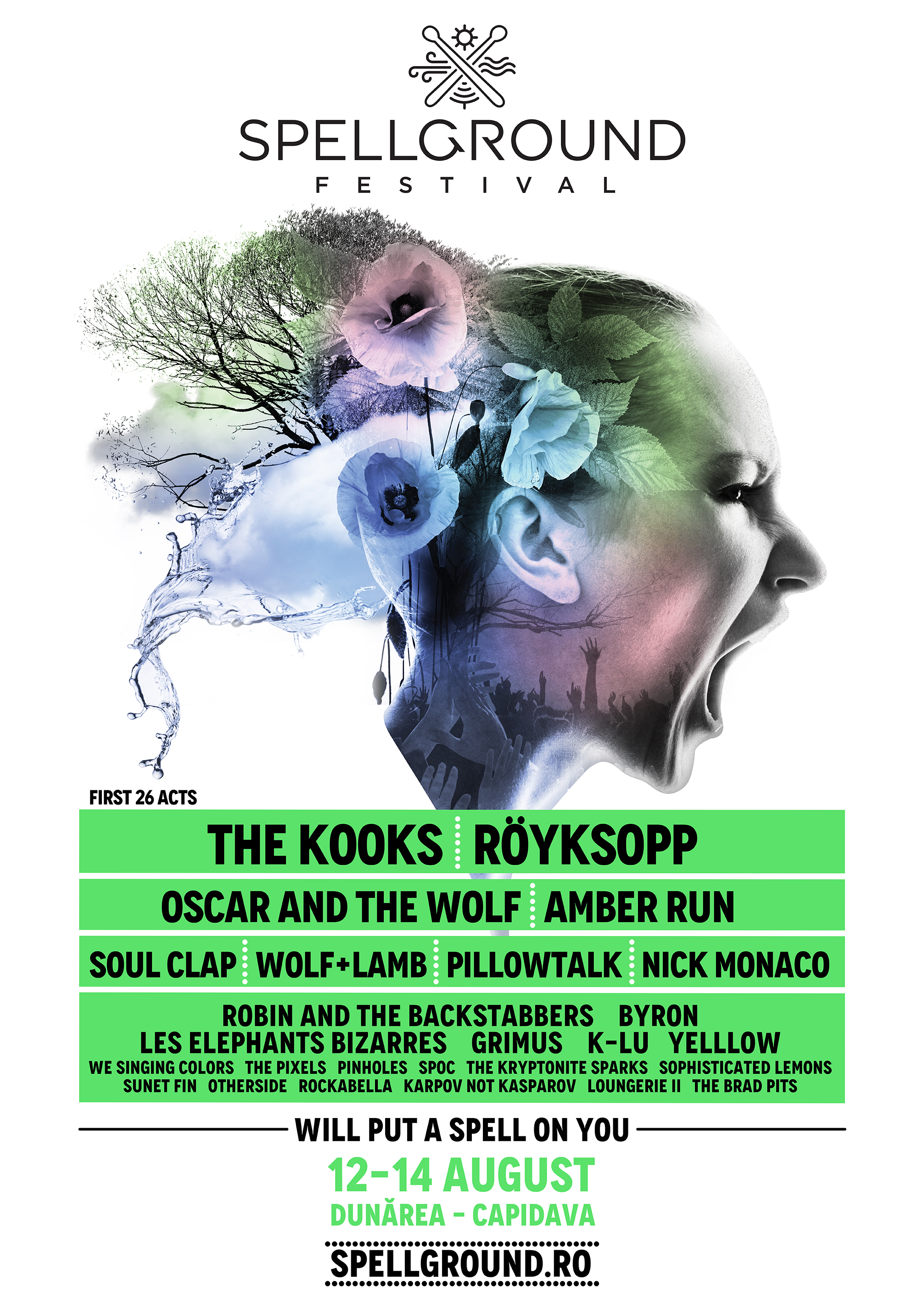 SPELLGROUND FESTIVAL: THE KOOKS | RÖYKSOPP