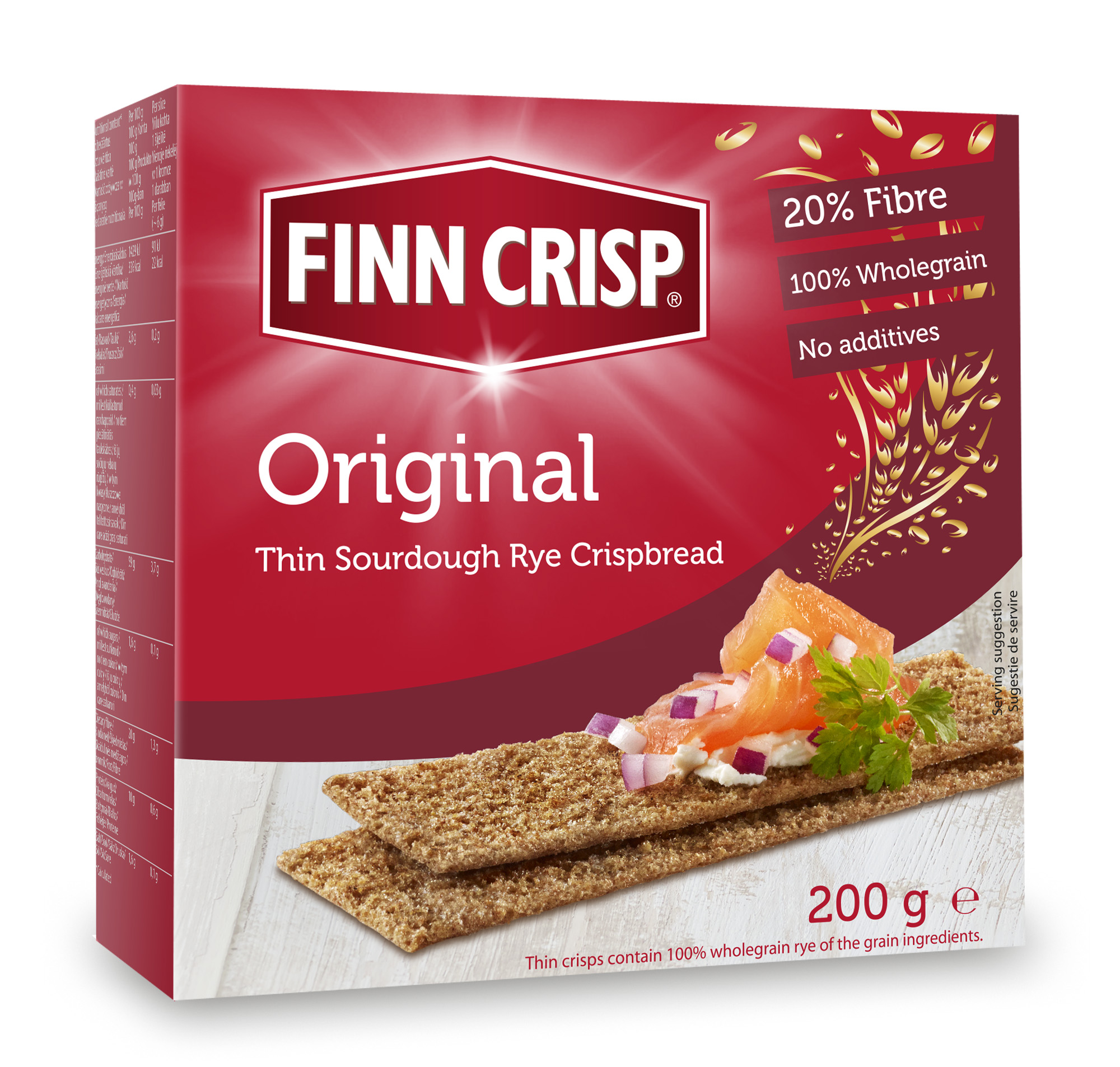 Finn Crisp-parte a unei diete echilibrate bazata pe fibre dietetice esentiale