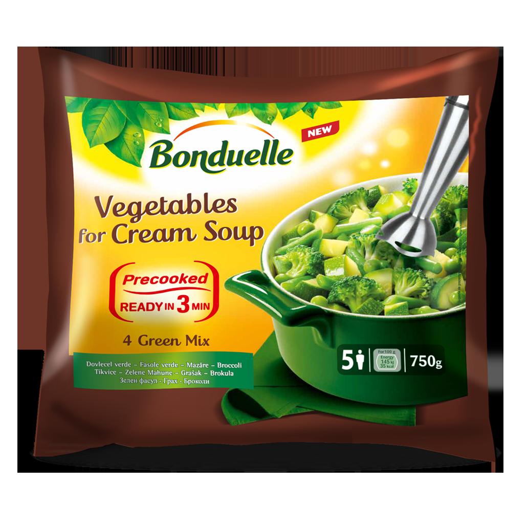 Noua gama Bonduelle – Legume pentru supa crema