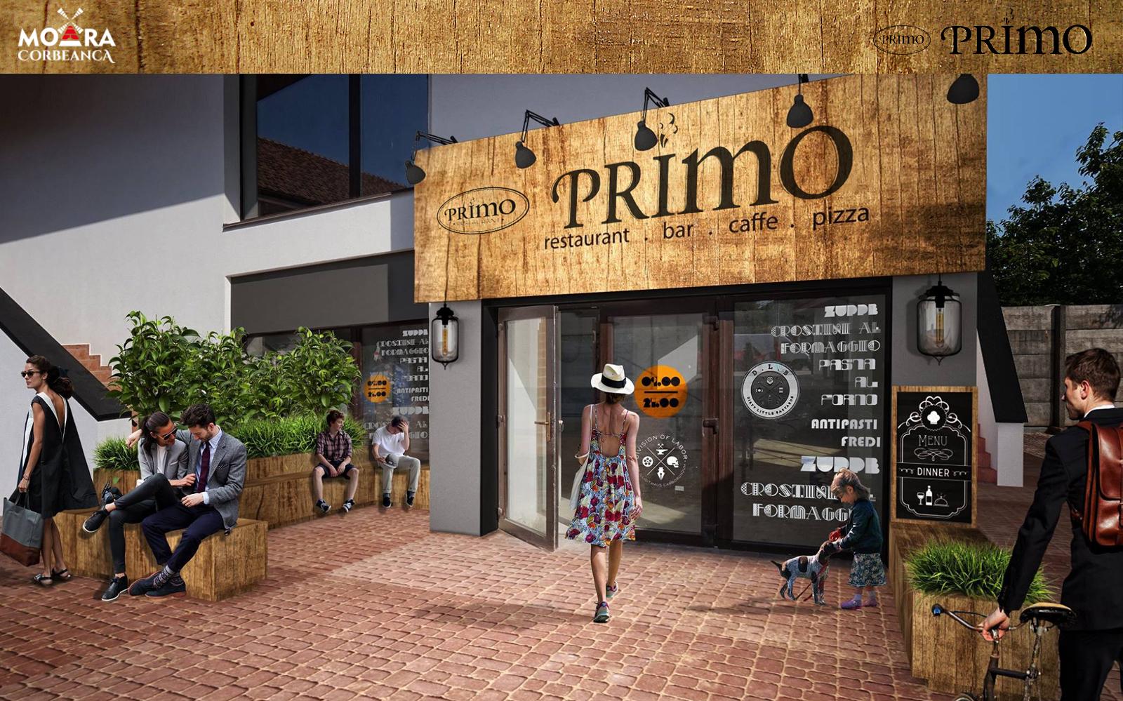 Noul restaurant PRIMO se deschide in Corbeanca