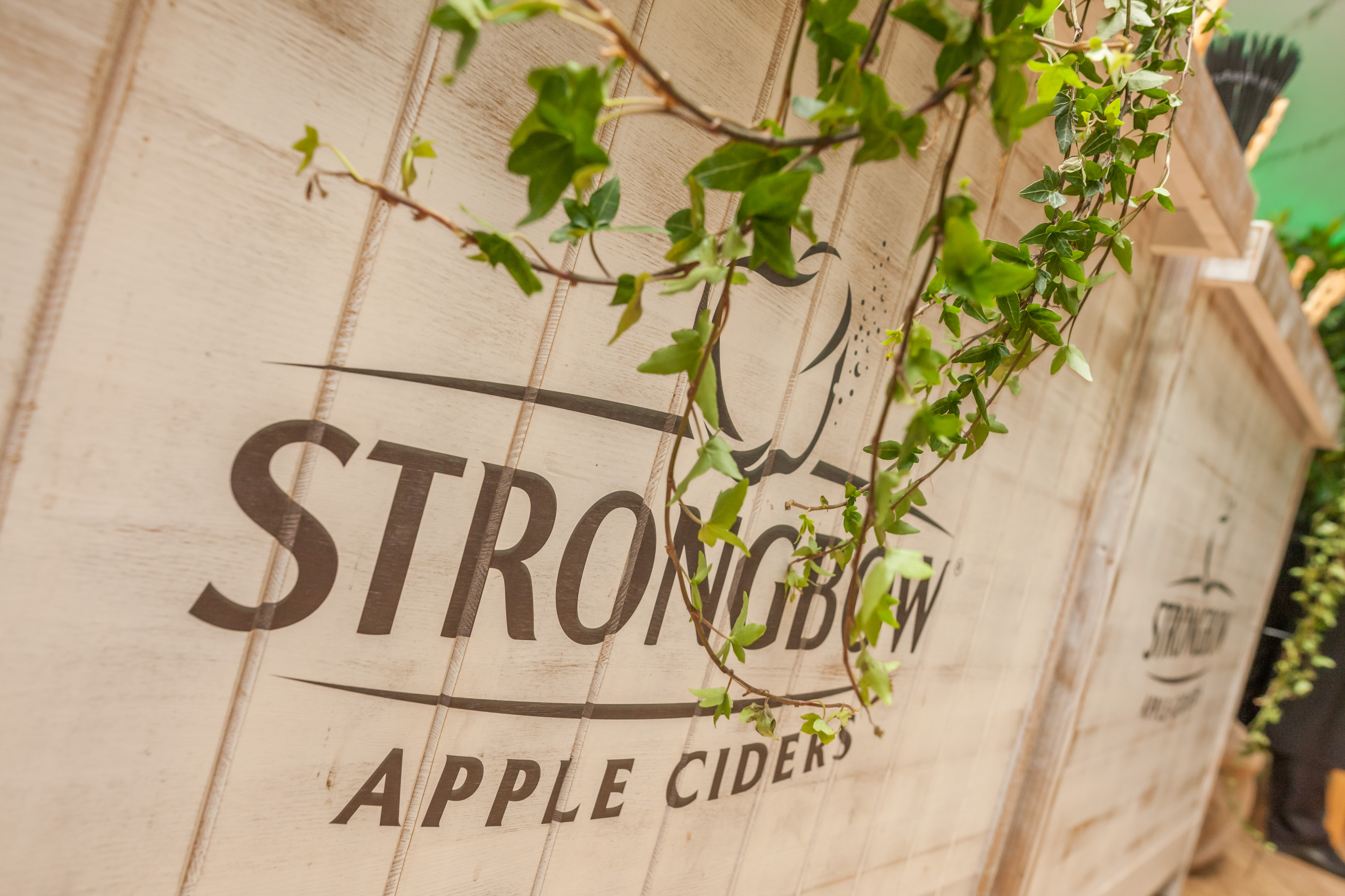 Strongbow Aplletone Party a adus natura in oras