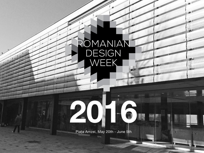 Expoziția centrală Romanian Design Week va fi organizată în Piața Amzei