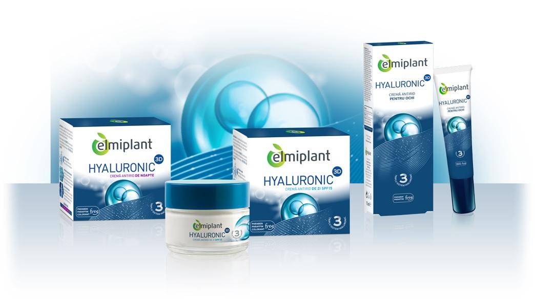 elmiplant lansează gama Hyaluronic 3D
