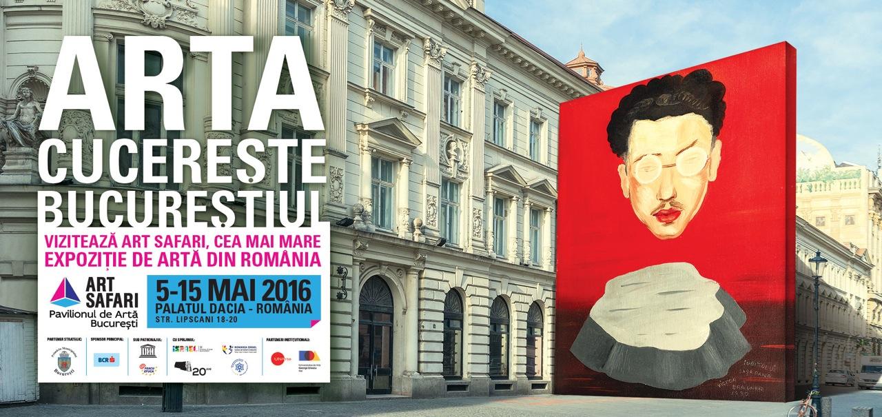 Art Safari București 2016 va avea loc în Palatul Dacia-România