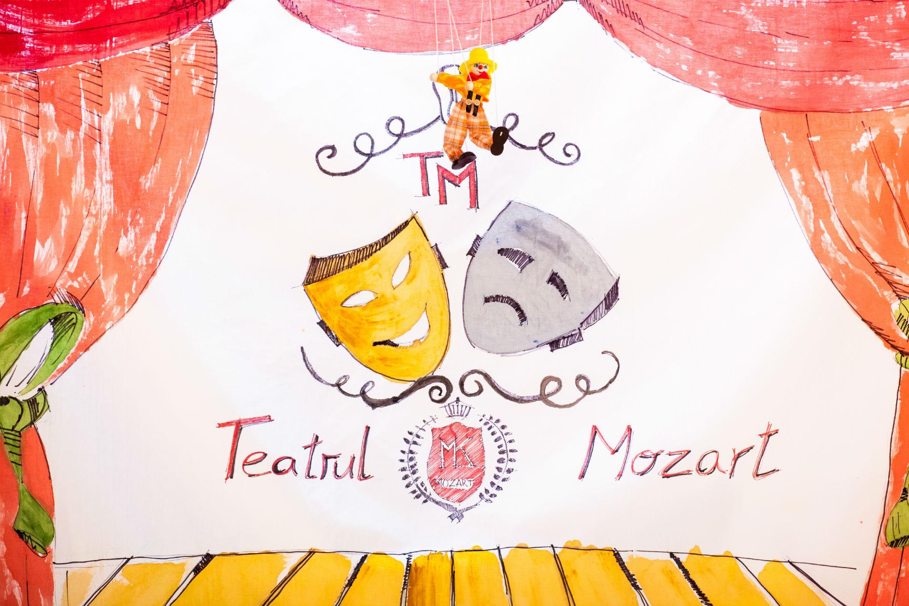 Dezvolta creativitatea si intiativa copiilor la Teatrul Interactiv Mozart