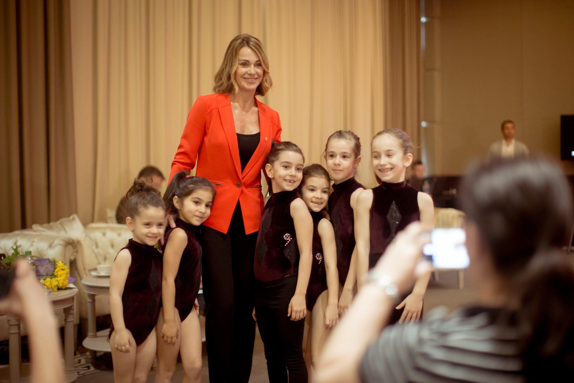 Peste 100 de copii au participat la Festivalul de Gimnastică Nadia Comăneci