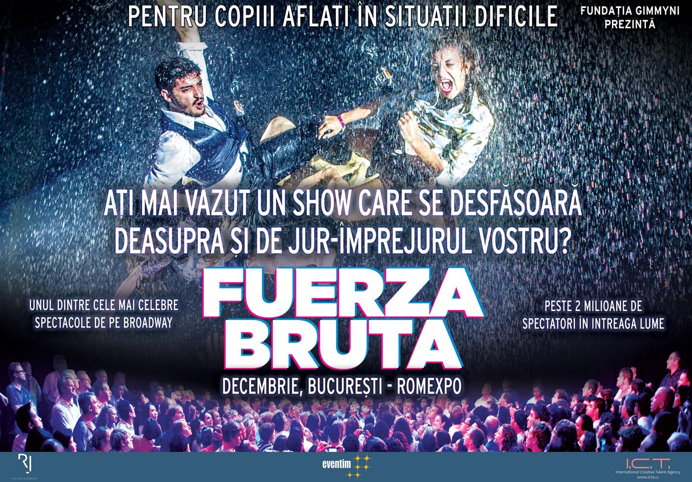 Fuerza Bruta vine în România la sfârșitul anului