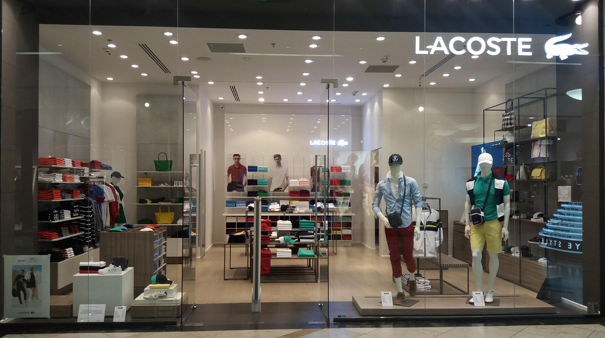 Se deschide magazinul Lacoste în AFI Palace Cotroceni