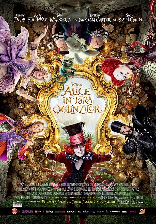 """""""Alice În Ţara Oglinzilor"""", reîntoarcerea în Underland"""