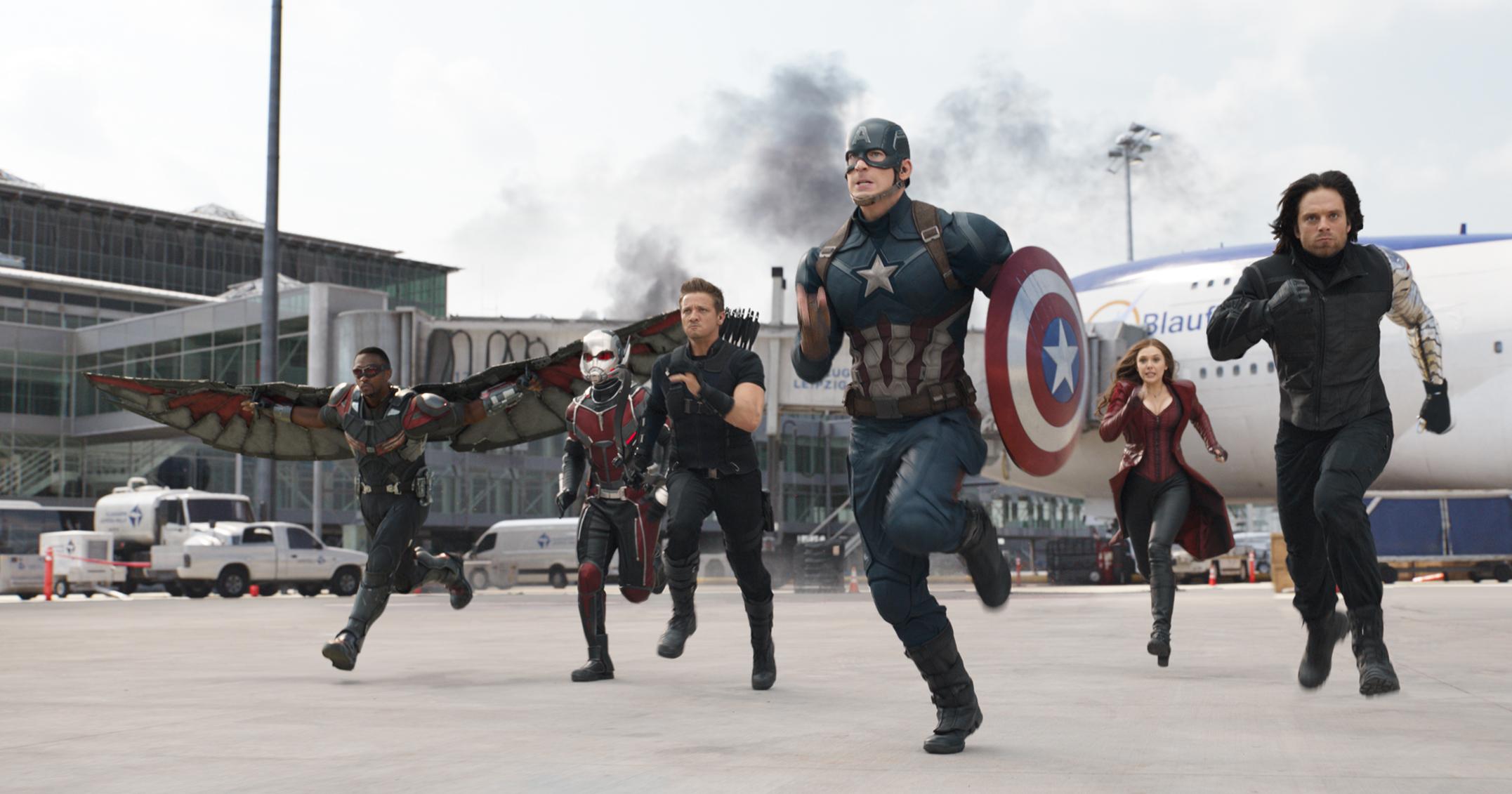 """""""Captain America: Război Civil"""", filmul care divizează super eroii. Tu în ce tabără vrei să fii?"""