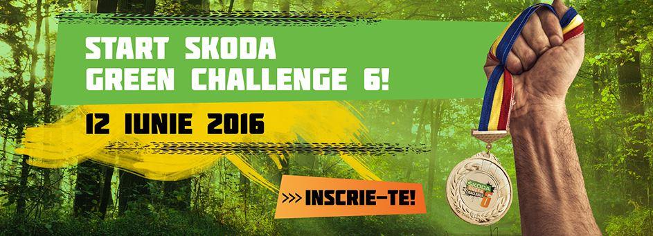 ŠKODA Green Challenge, ediția a VI-a, se află la linia de start