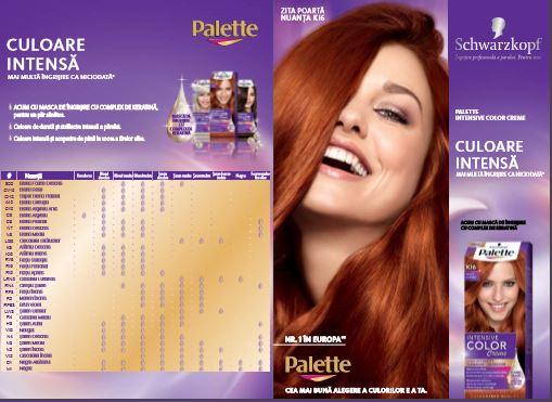 Palette Intensive Color Cream: culoare intensă și mai multă îngrijire ca niciodată