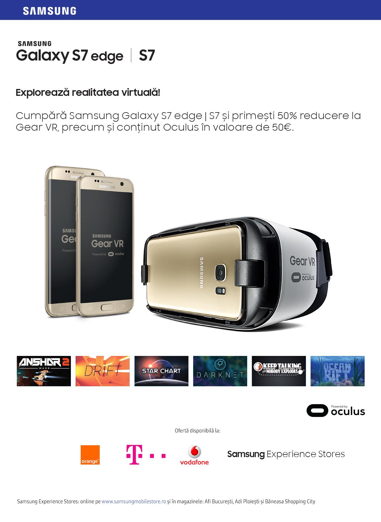 Samsung dezvoltă ecosistemul Galaxy S7