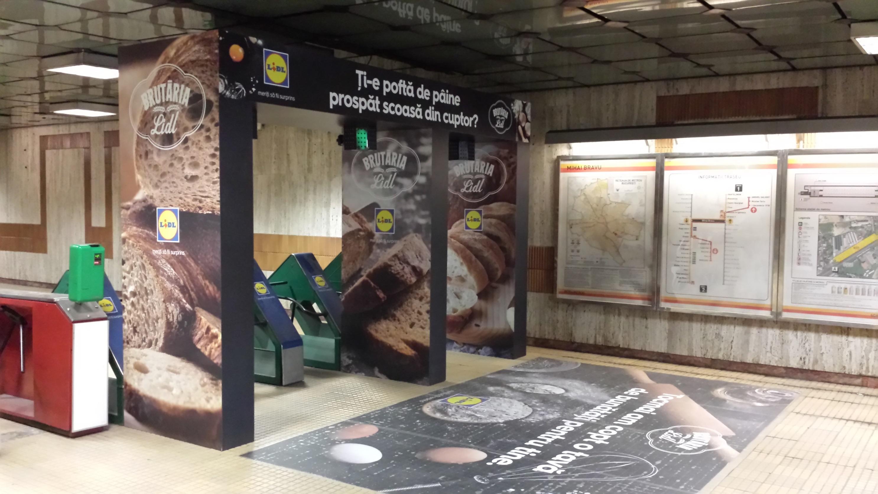 Initiative a adus brutăria Lidl la metrou