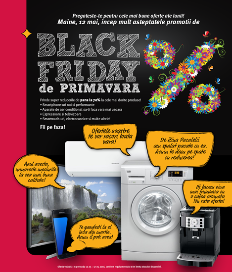 Black Friday de Primavara la ALTEX