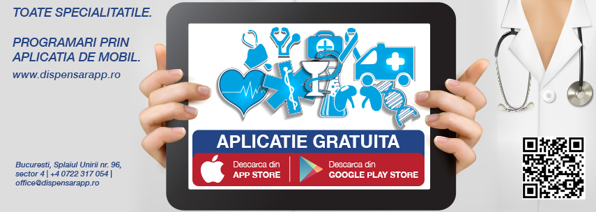 DISPENSAR: prima aplicație gratuită de mobil pentru programări adresată pacienților și clinicilor medicale