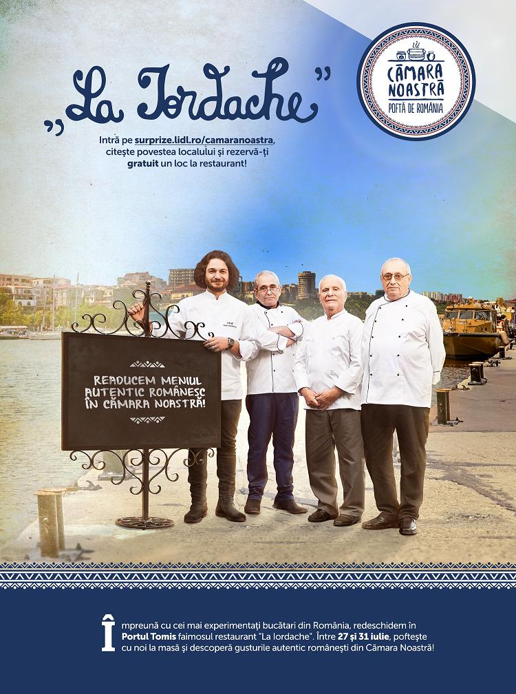 """Lidl aduce restaurantul """"La Iordache"""" în Constanța, în Săptămâna Românească"""