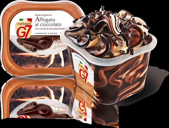 Siviero Maria a lansat trei sortimente noi: Tiramisu, Affogatto al Cioccolato și Stracciatella