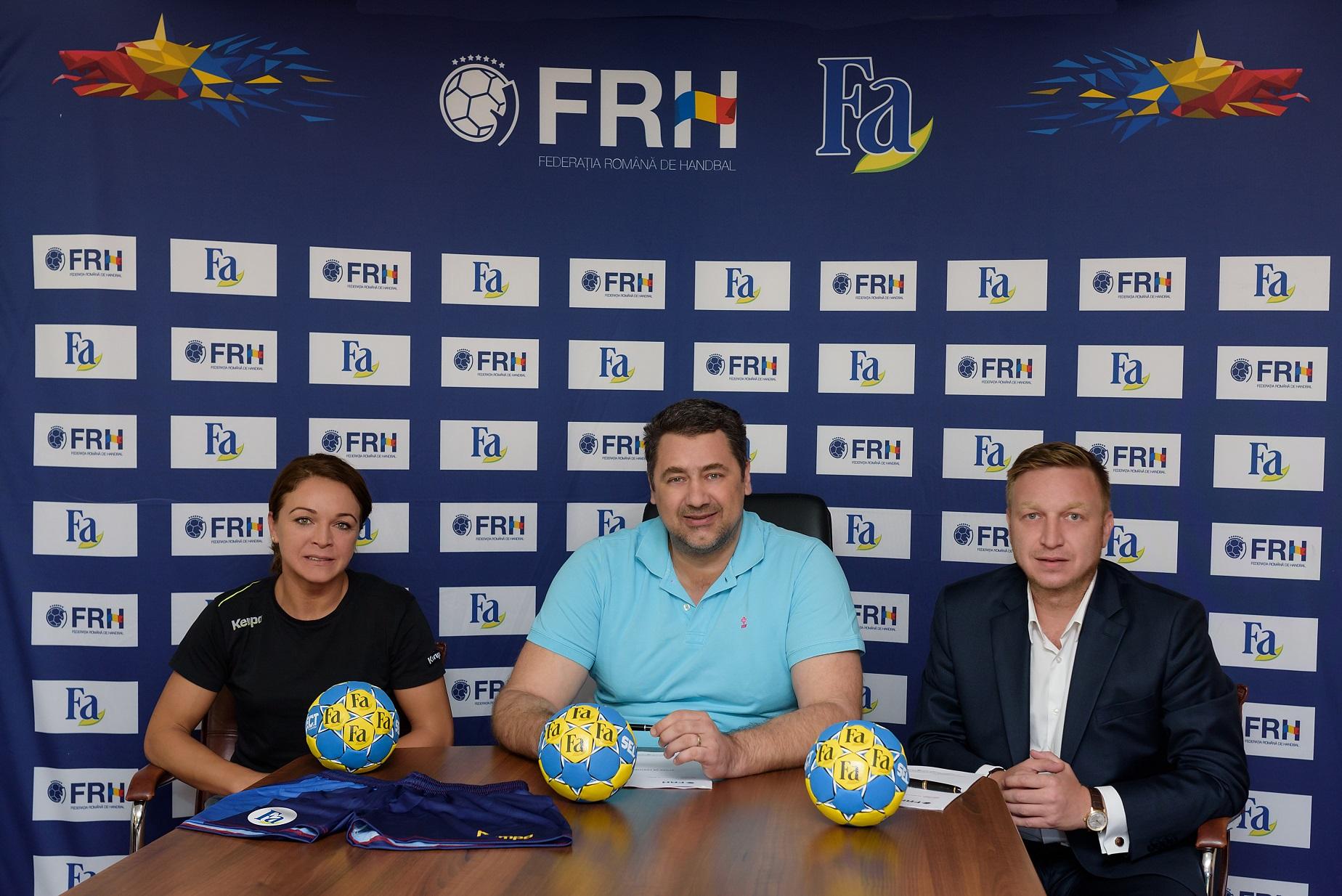 Fa devine partener al echipei nationale de handbal