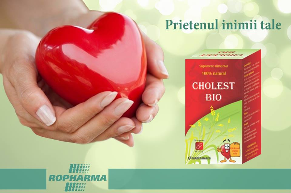 Cholest Bio – reduce colesterolul și previne bolile cardiovasculare