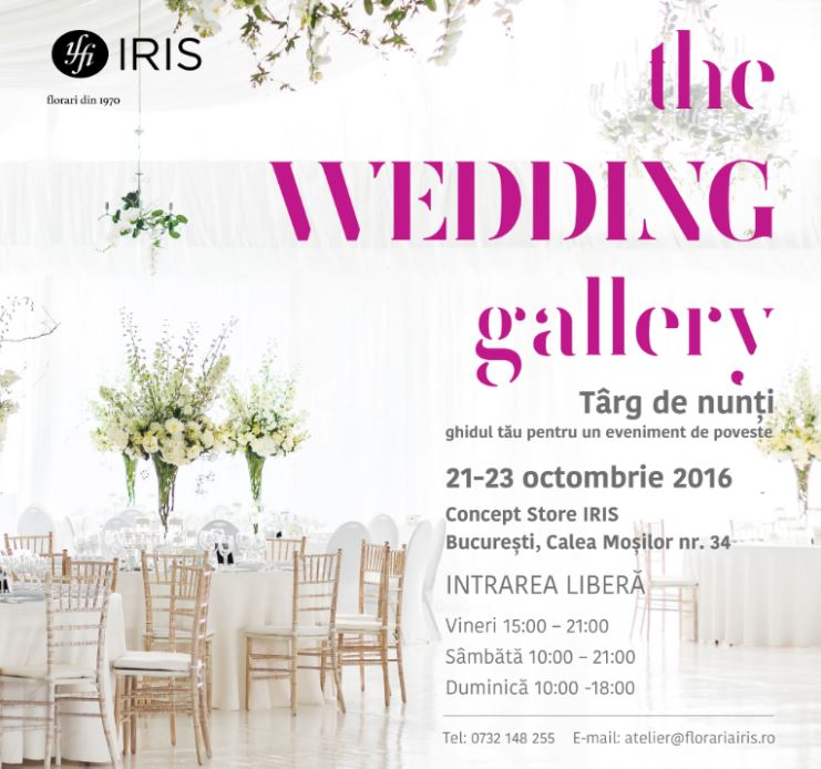 The Wedding Gallery in Concept Store IRIS