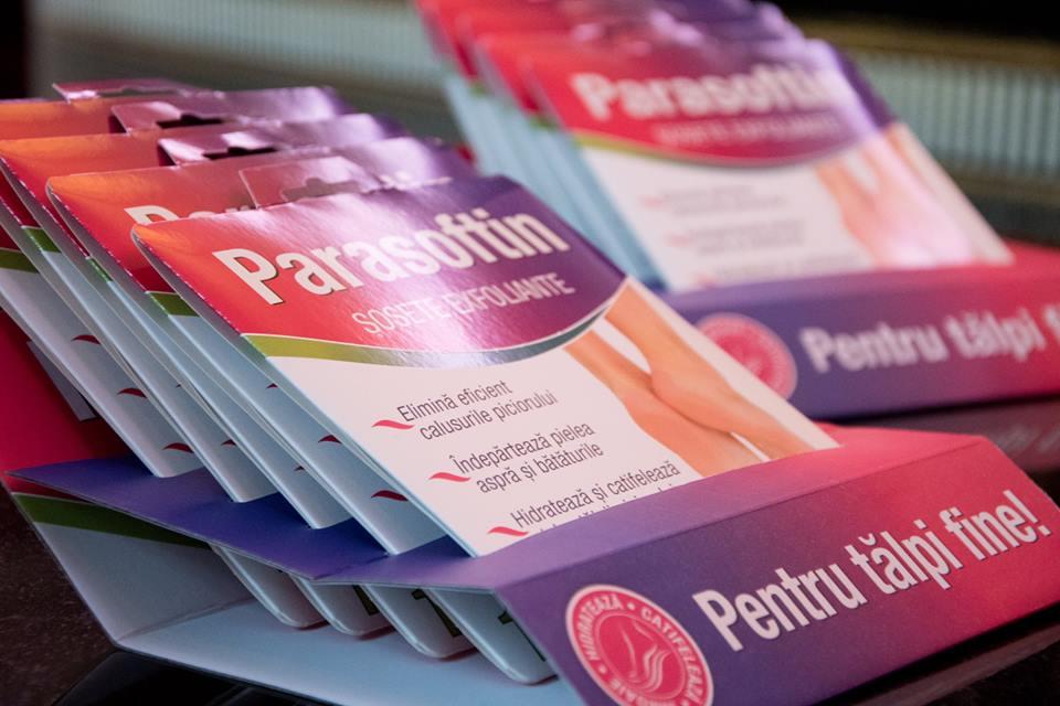 Parasoftin® – Sosete exfoliante pentru talpi fine!